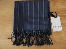 "NWT Reiss ""Smokey"" Silk Blend Scarf (with bag)"