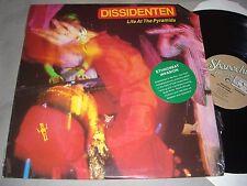 DISSIDENTEN Life at the Pyramids VINYL LP promo SHRINK WRAP record album 1986 EX