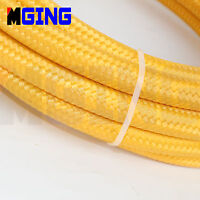 AN6 -6AN Transmission Oil Fuel Gas Line Hose Nylon Stainless Steel Braided 10M