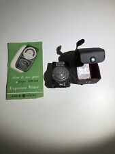 vivitar light meter Exposure Meter Original Case And Instructions