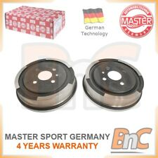 GENUINE MASTER-SPORT GERMANY HEAVY DUTY REAR BRAKE DRUM SET FOR OPEL VAUXHALL