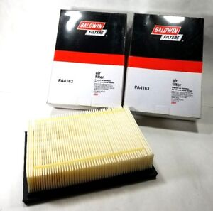 BALDWIN Air Filters PA4163 Motor Vehicle Air Filter (LOT of 2) New in boxes