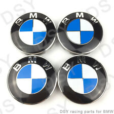 .4 Pcs - Genuine Emblem Logo Badge Hub Wheel Rim Center Cap 68mm Set of 4 grey