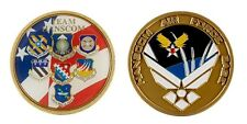 "HANSCOM AIR FORCE BASE MILITARY TEAM 1.75"" CHALLENGE COIN"