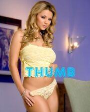 Ashlynn Brooke - 10x8 inch Photograph #027 in Yellow Lace Vest Top & Pants