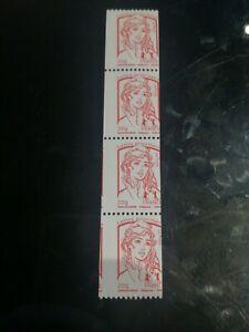 VARIETE N°4779ac Roulette  CIAPPA rouge xx et piquage a cheval cote mini 200 €