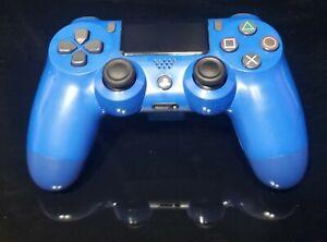 Original Genuine Sony Playstation PS4 Controller Dualshock 4 Wave Blue