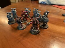 Warhammer 40k Chaos Space Marines Lot (10x Marines / Chaos Space Marine Squad)