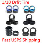 1/10 RC Car Onroad Hard Rubber Drift Tire Tyre Set 4pcs