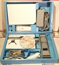 Nintendo Wii White Game Console with Wii Play Game Bundle Tested in Box!!!