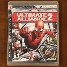 Marvel: Ultimate Alliance 2 (Sony PlayStation 3, 2009) PS3 - Complete & Tested