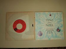"Tino Rossi / Tino Chante Noel – Disco Vinile 45 Giri 7"" EP MONO Stampa Francia"