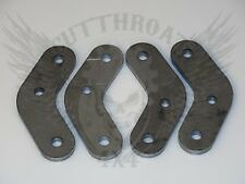 "Jeep YJ Shackles 1/2"" Lift Laser Cut 3/8 steel plate"