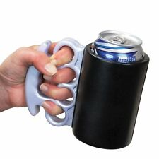 NEW | Brass Knuckles Drink Kooler Cooler Beer Soda Insulated Foam FREE SHIPPING