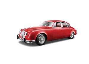 1:18 Jaguar Mark 2 Saloon by Bburago in Red 18-12009R