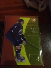 12/13 Fleer Retro Taylor Hall Ex Essential Credentials Now #7/34 Oilers Wow !!!