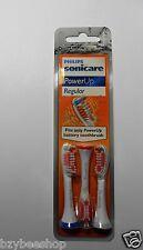 NEW Philips Sonicare PowerUp Replacement Brush Heads 3ct- Regular HX3013
