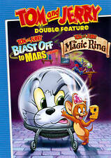 TOM AND JERRY Double Feature BLAST OFF TO MARS and THE MAGIC RING NEW CUTOUT DVD