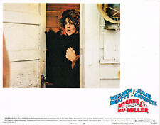 MCCABE AND MRS. MILLER JULIE CHRISTIE #4 ORIGINAL US LOBBY CARD RARE