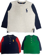 Ralph Lauren Big Pony long sleeved baby boys top 3 -12 m Genuine factory outlet