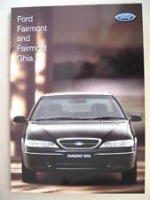 Prospekt Ford AUSTRALIA Fairmont & Ghia EL  MY 1997 1998 brochure