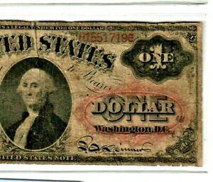 "$1 (FR-19) ""LEGAL TENDER"" 1874 (WASHINGTON) ""LEGAL TENDER"" (WASHINGTON) !!! NICE"