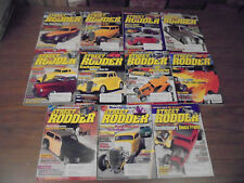 Street Rodder Magazine Lot 2002 Classic Muscle Cars Street Rods