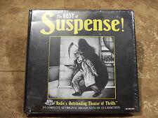 The Best of Suspense Original Radio Broadcasts (24 shows/12 cassettes) 1940's