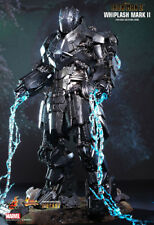 Hot Toys 1/6 Iron Man 2 Whiplash Mark II Mickey Rourke Diecast MISB MMS237D06