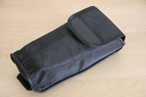 Generic black fitted case pouch for Canon 600exII rt speedlite flash UK in stock