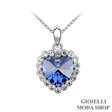 Collana Donna Ciondolo Cuore con Crystal Swarovski Elements - G150
