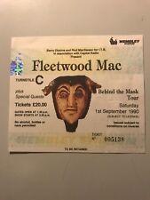 FLEETWOOD MAC CONCERT TICKET, 1/91990. LONDON WEMBLEY ARENA
