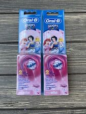 Oral B Stages Power 2 Packs Of 2 Brush Heads Powered By Braun Lot
