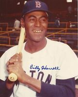 Billy Harrell (Deceased) 1961 Boston Red Sox Signed Autographed 8x10 Photo COA