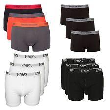 Cotton Patternless ARMANI Underwear for Men