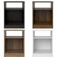 Nightstand Bedside End Table Side Shelf Bedroom Furniture Guest Bookcase Storage