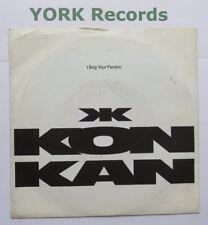 """Kon Kan-I Beg Your Pardon-Excelente Estado 7"""" Single Atlántico 8969"""