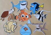 Finding Nemo Selection Card Making Toppers - Die Cuts 8 Pieces Embellishments