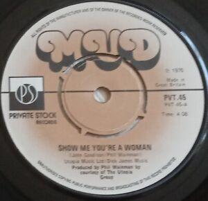 "MUD - Show Me You're A Woman -  7"" Vinyl Single - 1975"