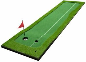 Clevr Golf Putting Green Mat - Portable Synthetic Turf Mat