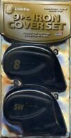CASTLE BAY 9PC RIGHT HANDED IRON COVERS WITH FLEXLOCK NEW Open Box