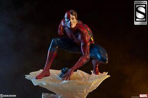 SIDESHOW EXCLUSIVE ARTIST SERIES MARK BROOKS DESIGN SPIDER-MAN STATUE FIGURE