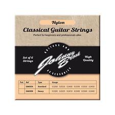 Johnny Brook Calibre de nylon de alta calidad alta Clásica Cuerdas de Guitarra-Paquete de 6