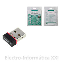 Envío Diario Adaptador Wifi Usb Mini Receptor Wifi Alta Velocidad Ralink Rt5370