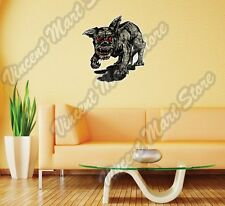 "Hell Dog Demon Gargoyle Devil Evil Gift Wall Sticker Room Interior Decor 22""X22"""