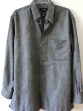 +Toscano mens long sleeve shirt  sz  L, NWOT orig $165 , made in Italy