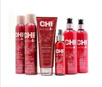 CHI ROSE HIP OIL COLOR NURTURE DRY UV, RECOVERY TREATMENT, REPAIR & SHINE.....