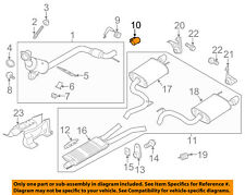FORD OEM 11-18 Mustang 5.0L-V8-Exhaust Clamp BR3Z5A231B