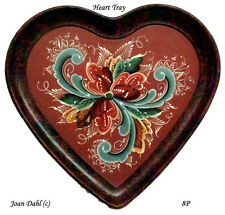 Rosemaling Heart Pattern Package, Free Shipping #8P