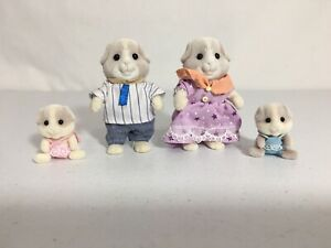 Calico Critters/sylvanian Families Guinea Pig Family Of 4